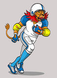 Lion - football player Royalty Free Stock Photography