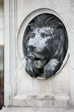 Lion fountain Stock Image