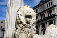 Lion Fountain, La Havane Photographie stock libre de droits