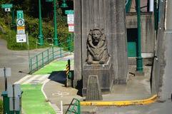 Lion Gate Bridge Stockbild