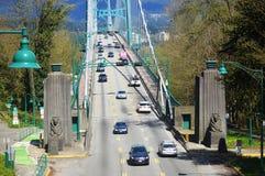 Lion Gate Bridge Stockfotos