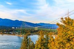 Lion Gate Bridge Stock Images