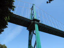 Lion Gate Bridge Vancouver. Royalty Free Stock Photography