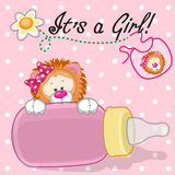 Lion girl Royalty Free Stock Images