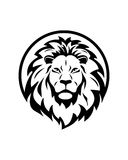 Lion group abstract vector business insurance abstract Royalty Free Stock Photography