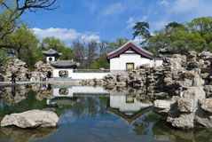 Lion Grove. Of Chengde Imperial summer resort stock images
