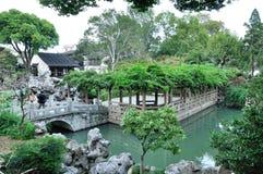 Lion Grove Garden royaltyfri bild