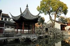 Lion Grove Garden. Suzhou. China. The rock-garden in Suzhou. China stock image