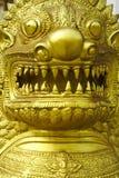 Lion Guard av templet Arkivfoto