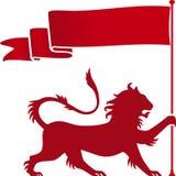 Lion héraldique Photographie stock libre de droits