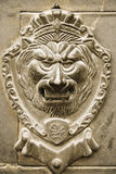 Lion handle on door Royalty Free Stock Image