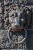 Lion Handle Stockholm Sweden Stock Image