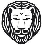 Lion head. Tatoo design, lion head vector Stock Image