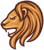 Lion head. Vector,  vector illustration Stock Image