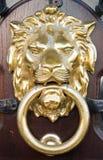 Lion Head. Classic Lion Head Door Knocker Royalty Free Stock Image