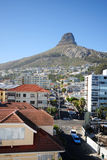 Lion Head. Photo of the Lion Head in Cape Town stock photo