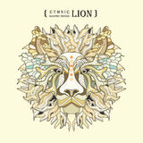 Lion Head Illustration de Vecteur