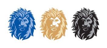 Lion Head stock de ilustración