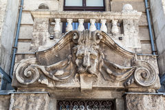 Lion Head Budapest Hungary Stock Photography