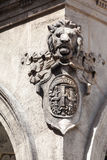 Lion Head Budapest Hungary Royalty Free Stock Photo