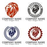 Lion Head Concept Logo Fotografía de archivo