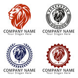 Lion Head Concept Logo Stock Photography