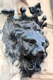 Lion head decoration Stock Images