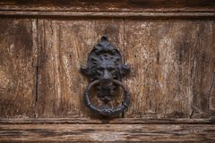 Lion Head Door Knocker photos libres de droits
