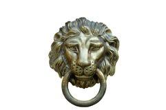 Lion Head Door Knocker, Ancient Knocker Royalty Free Stock Photos