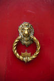 Lion Head Door Knocker Stock Images
