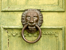 Lion head door knocker (1) Stock Images