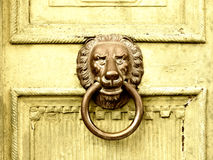 Lion head door knocker (8) Royalty Free Stock Photos