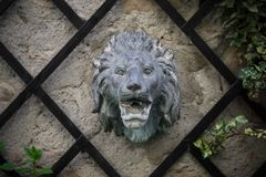 Lion Head Fountain stock foto's