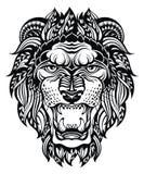 Lion Head Graphic Leo Fotografía de archivo libre de regalías