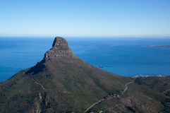 Lions head (Cape Town) Royalty Free Stock Images