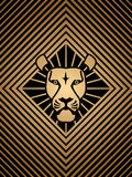Lion head icon Royalty Free Stock Photography