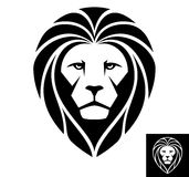 Lion Head Icon - Illustration Royalty Free Stock Photography