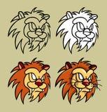 Lion head illustration Royalty Free Stock Photography