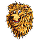 Lion head  illustration. This is  illustration ideal for a mascot and tattoo or T-shirt graphic Royalty Free Stock Image