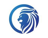 Lion Head Logo illustration de vecteur