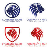 Lion Head Logo Stock Photography