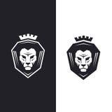 Lion head logo Royalty Free Stock Photos