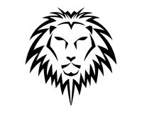Lion Head Logo Template. Vector icon Stock Photo