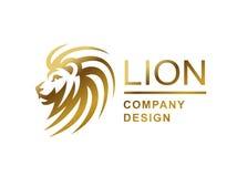 Lion head logo - vector illustration, emblem design Stock Photo