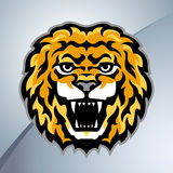 Lion head mascot Royalty Free Stock Photography