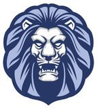 Lion head mascot Stock Photography