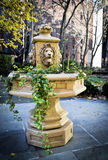 Lion Head Planter Royalty Free Stock Photography