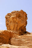 Lion head rock Stock Photos