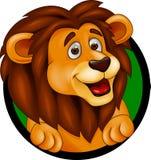 Lion head smiling Royalty Free Stock Photos