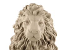 Lion head statue Stock Image